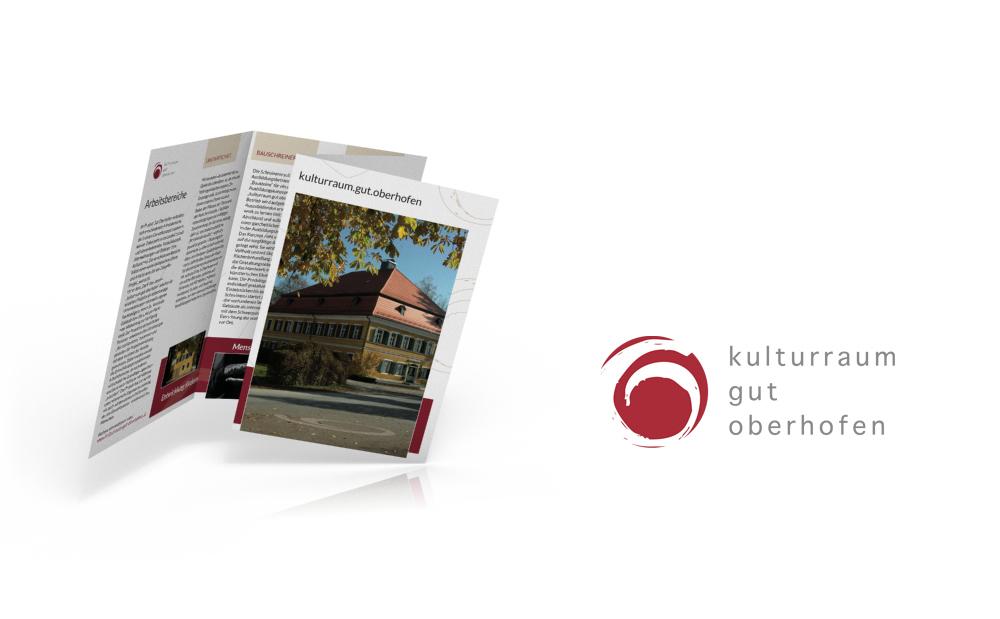 Flyer Kulturraum Gut Oberhofen