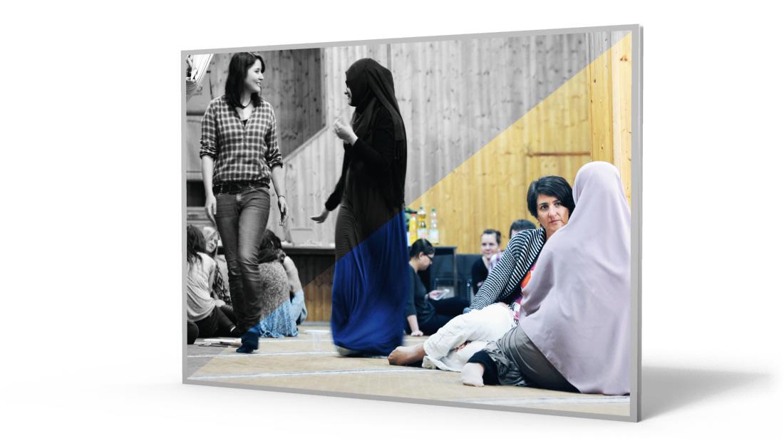 Bild Yaman Ausstellung KontaktKulturen Moschee