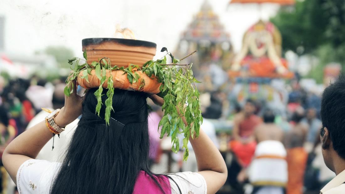 Bild Yaman Ausstellung KontaktKulturen Hindu-Tempel